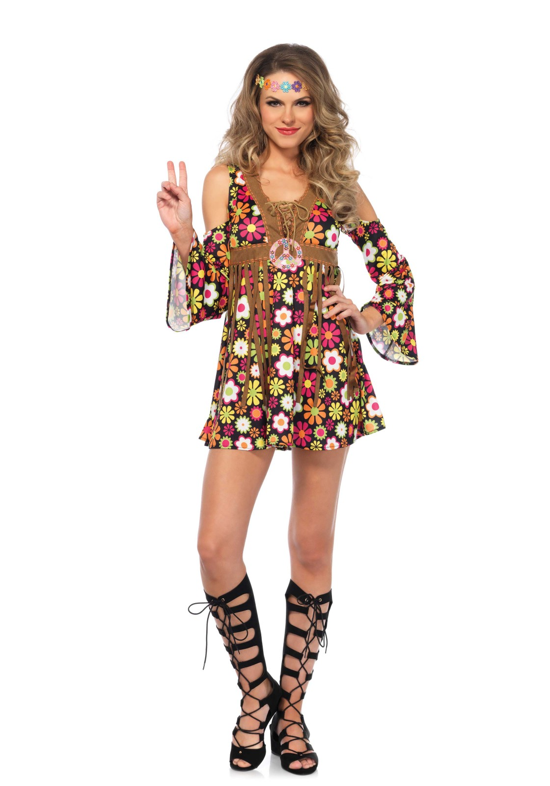 Flower power hippie fashion 62