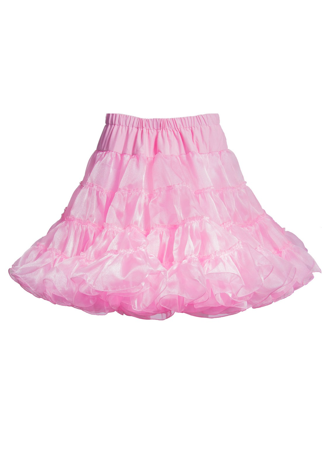 Luxurious knee length petticoat will give your outfit an incredible boost. Features a petticoat with multiple layers of tulle.