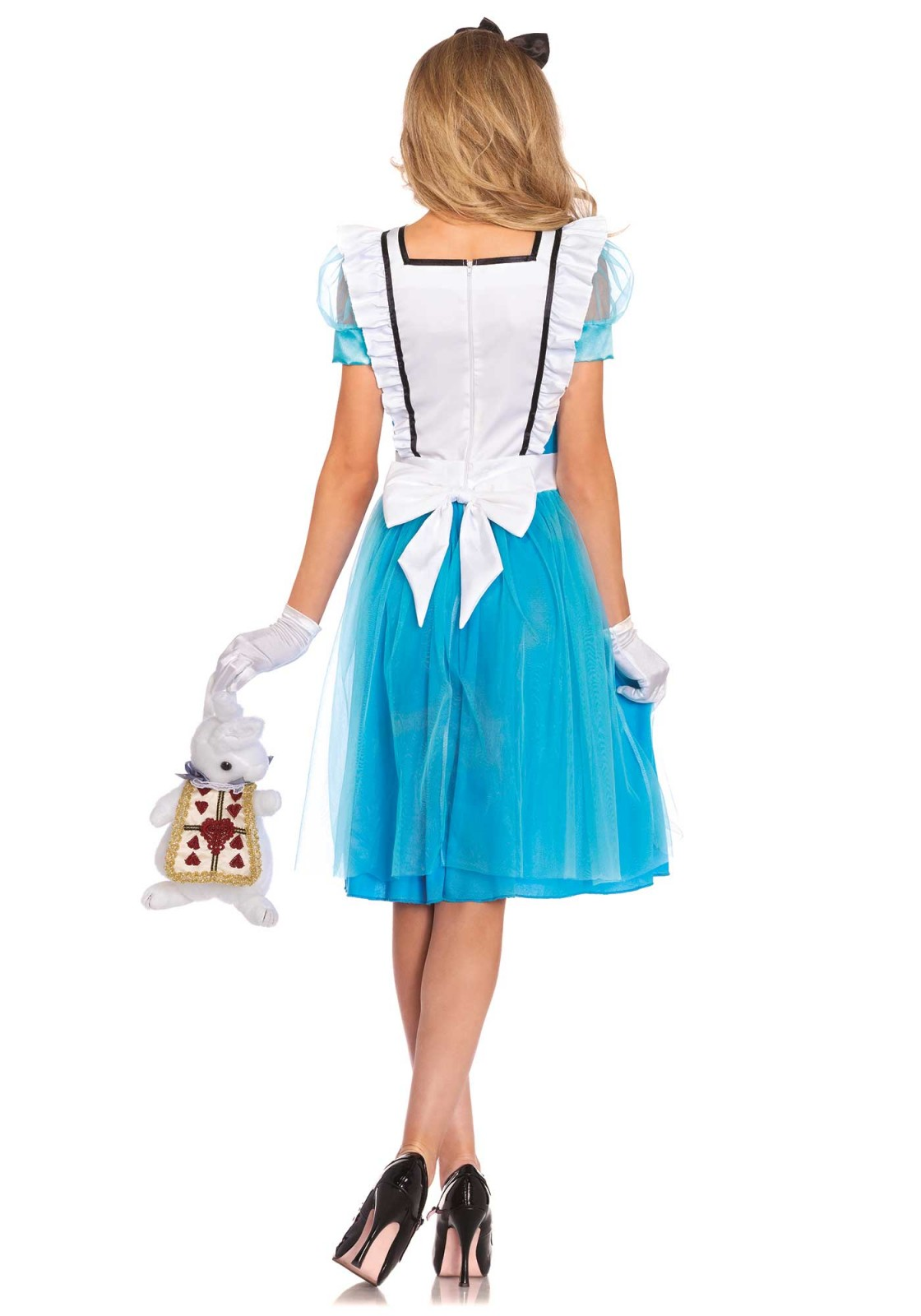 White apron alice in wonderland -  P Follow The White Rabbit You Will Discover A Magical World