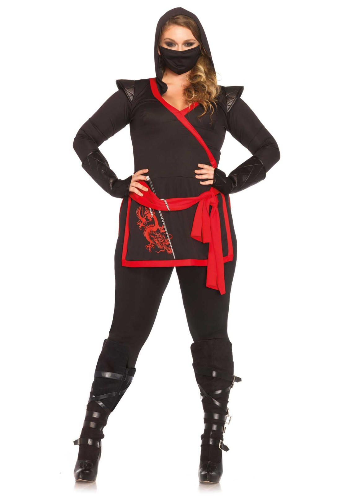 This tough looking assassin comes from a Ninja family. This 4PC ninja costume includes a ...  sc 1 st  Leg Avenue & This tough looking assassin comes from a Ninja family. This 4PC ...