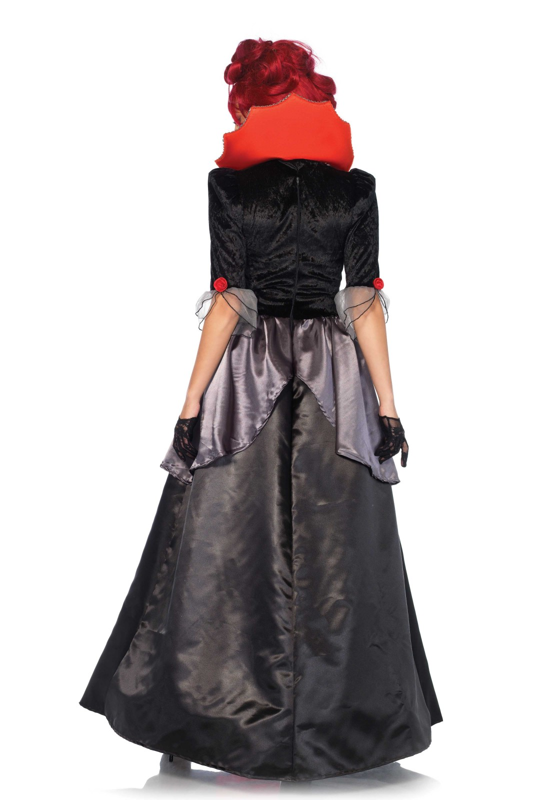 2 PC. Blood Countess costume set, includes satin and lace Victorian ...