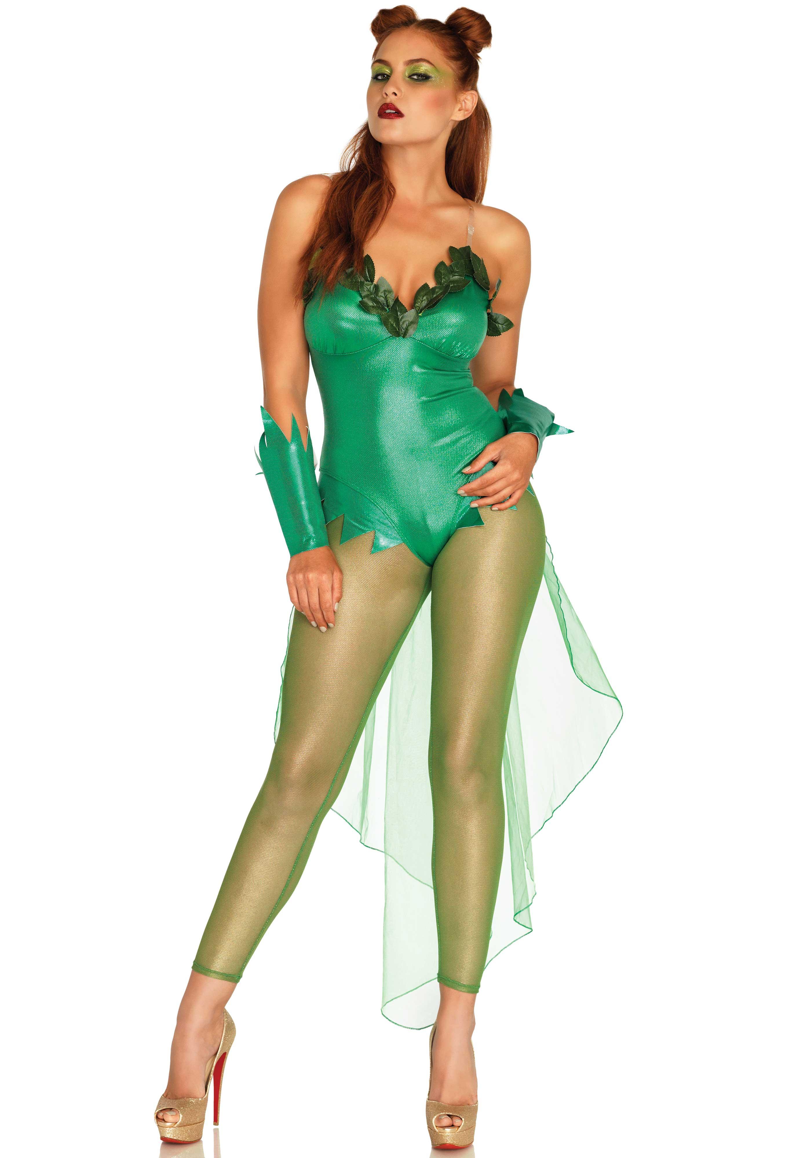 poison ivy bodysuit halloween costume