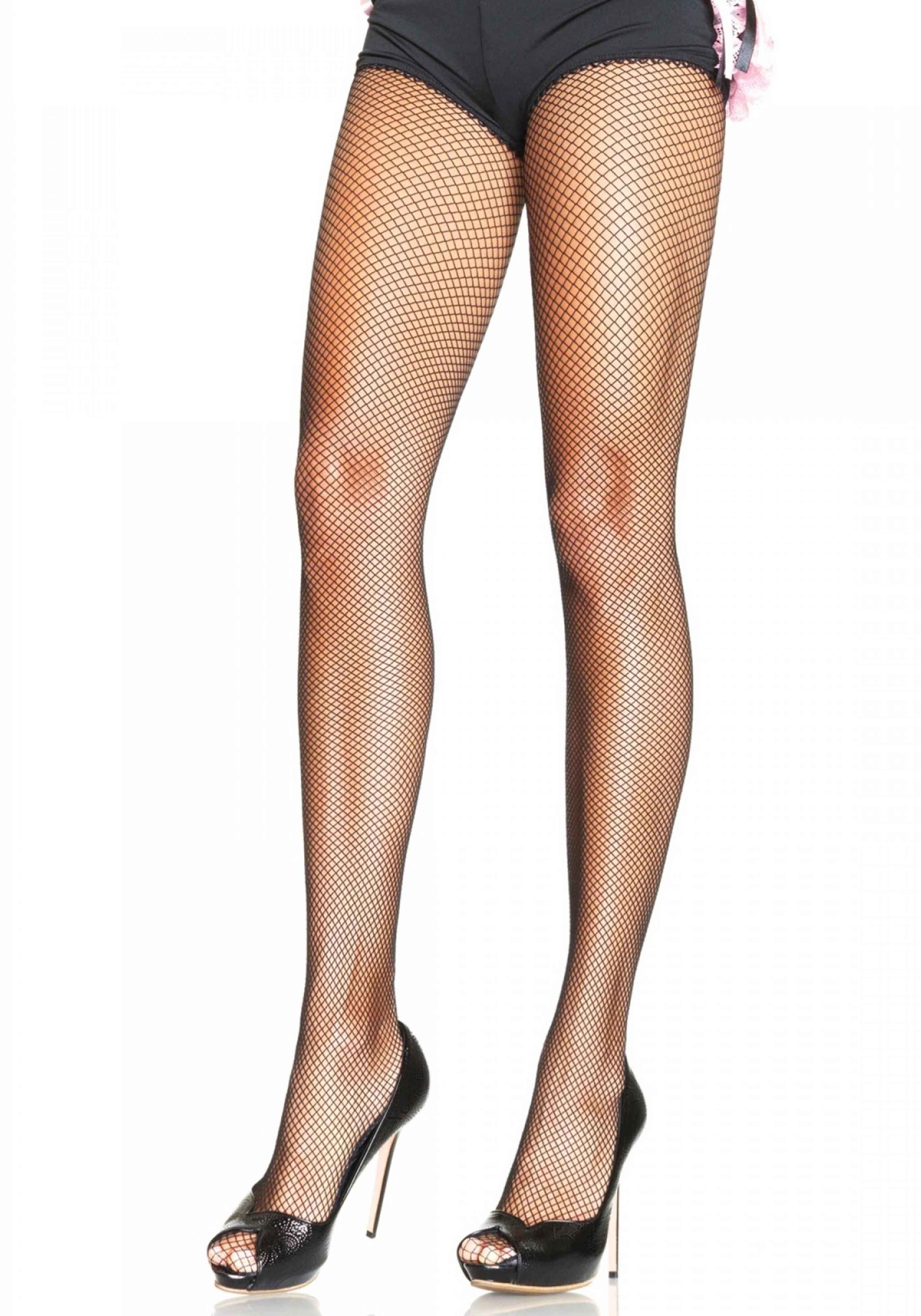 Plus Size Fishnet Pantyhose
