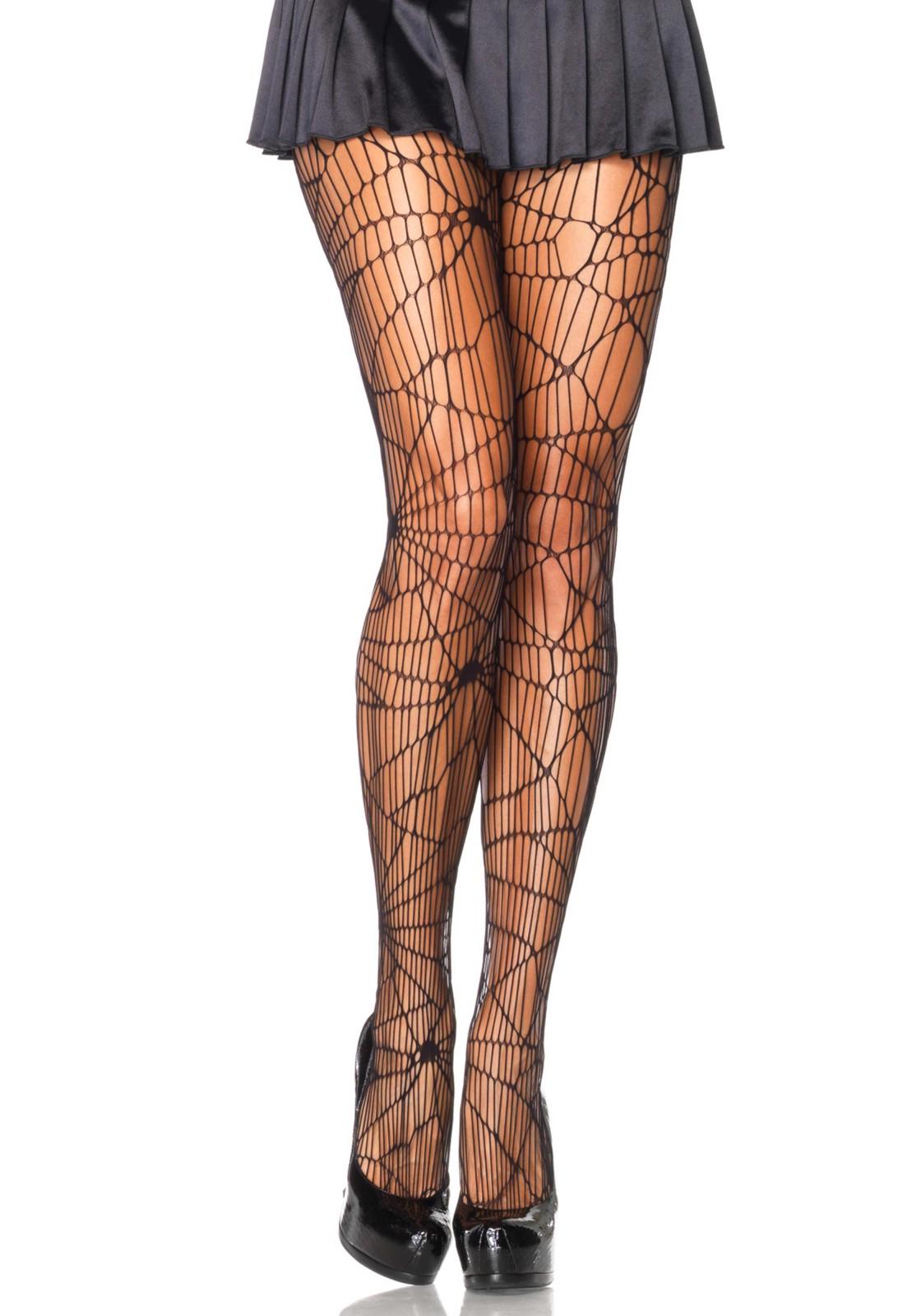 Distressed Net Pantyhose