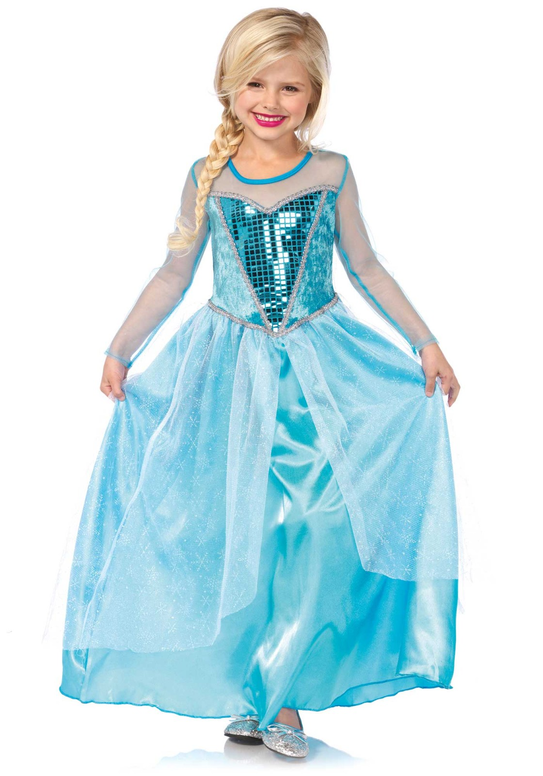 The fairest snow queens sparkle like snowflakes with this fantasy kids costume.  sc 1 st  Leg Avenue & The fairest snow queens sparkle like snowflakes with this fantasy ...